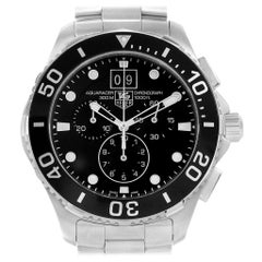 TAG Heuer Aquaracer Chronograph Steel Men's Watch CAN1010