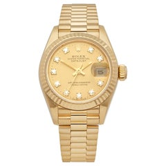 Rolex Datejust 26 18k Yellow Gold 69178G