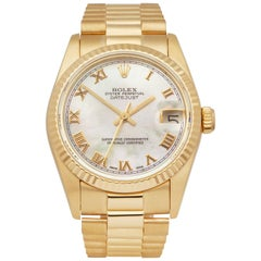 Rolex Datejust 31 18k Yellow Gold 68278