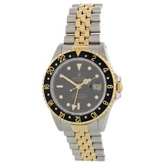 Rolex Oyster Perpetual Date GMT Master ll 16713 Men's Watch