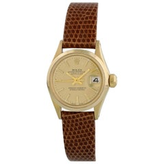 Rolex Oyster Perpetual Datejust 6516 Ladies Watch