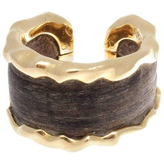 Van Cleef & Arpels Wood Gold Ring