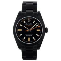 Rolex Oyster Perpetual Milgauss Custom PVD 116400