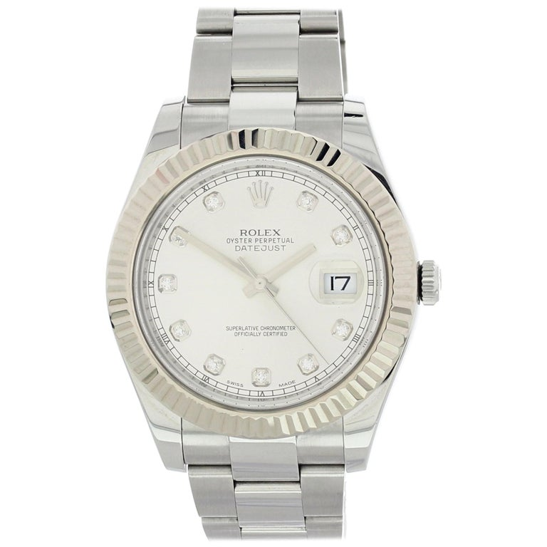 73bce736770 Rolex Oyster Perpetual Datejust II 116334 Men's Watch Original Papers For  Sale