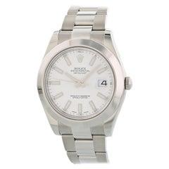 Rolex Oyster Perpetual Datejust II 116300 Men's Watch Original Papers