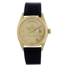 Rolex Day-Date President 1803 Wide Boy Yellow Gold Men's Watch