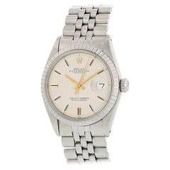 Rolex Oyster Perpetual Datejust 1603 Linen Dial Men's Watch