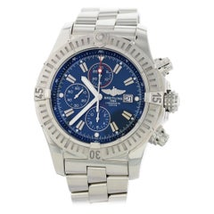 Breitling Super Avenger Chronograph SS A13370 Men's Watch