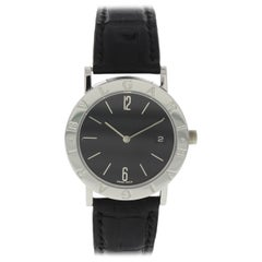 Bvlgari BB 33 SLD Stainless Steel Quartz Watch