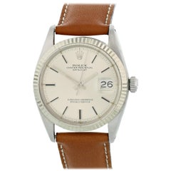 Rolex Oyster Perpetual Datejust 1601 Men's Watch Original Papers