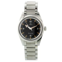 Omega 1957 Trilogy Railmaster 220.10.38.20.01.002 Limited Edition Box and Papers