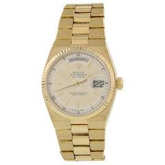Rolex Oysterquartz Day-Date 18 Karat 19018 Men's Watch