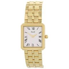 Piaget Protocol 50154 M601D 18 Karat Yellow Gold Watch