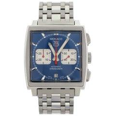 TAG Heuer Monaco CW2113 Chronograph Men's Watch