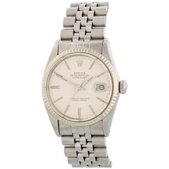 Rolex Datejust 16014 Linen Dial Men's Watch