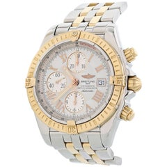 Breitling Chronomat Evolution A13356 Men's Watch Box Papers