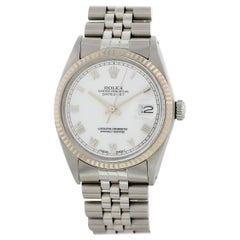 Rolex Oyster Perpetual Datejust 16014 Men's Watch with Papers