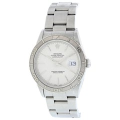 Rolex Oyster Perpetual Datejust 16264 Men's Watch Box and Papers