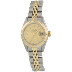 Rolex Oyster Perpetual Date 69173 Ladies Watch Original Papers