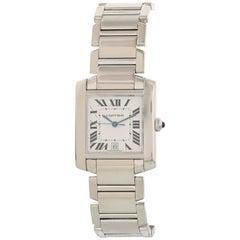 Cartier Tank Francaise W50011S3 Men's Watch