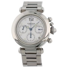 Cartier Pasha Chronograph 2412 Automatic Watch