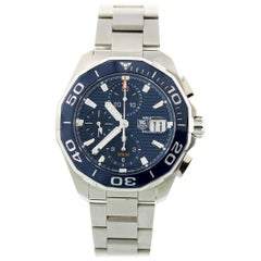 Tag Heuer Aquaracer Chronograph CAY211B.BA0927 Box and Papers