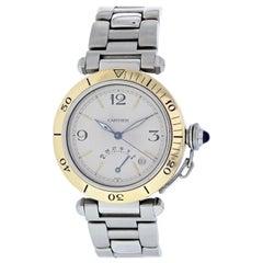 Cartier Pasha Power Reserve W3101255 Men's Watch