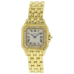 Cartier Panthere 1280 18 Karat Ladies Watch