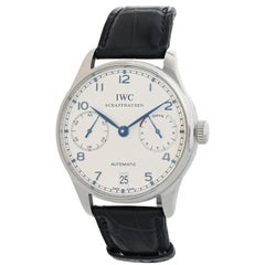 IWC Portuguese IW500107 7 Day Reserve Men's Watch