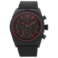 Tudor Fastrider Black Shield 42000CR Ceramic Chronograph