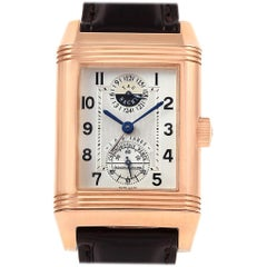 Jaeger-LeCoultre Reverso Rose Gold Wempe Limited Edition Watch 240.2.72