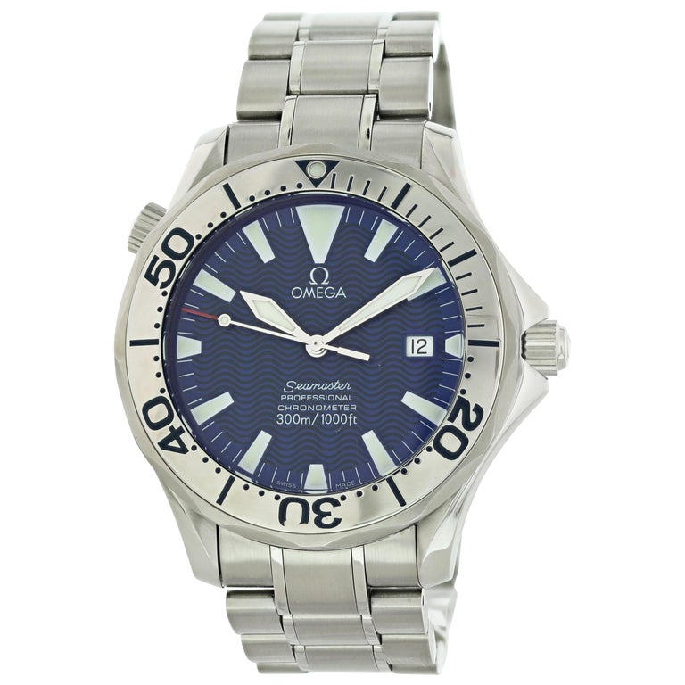 Omega Seamaster Professional 2255.80 Men's Watch For Sale