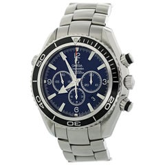Omega Seamaster Planet Ocean 2210.50.00 600m Co-Axial Men's Watch with Papers