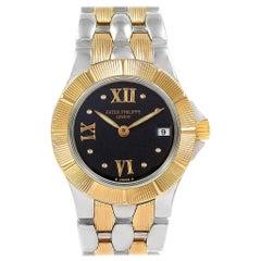 Patek Philippe Neptune Steel 18 Karat Yellow Gold Ladies Watch 4880