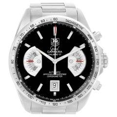 TAG Heuer Grand Carrera Black Dial Automatic Men's Watch CAV511A