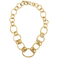 Ippolita Glamazon 18 Karat Yellow Gold Revolution Link Necklace