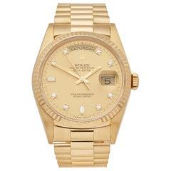 Rolex Day Date 36 18 Karat Yellow Gold 18238