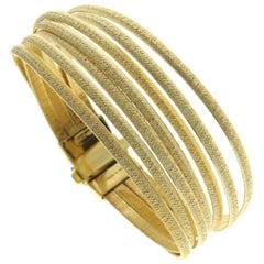 Marco Bicego 18 Karat Yellow Gold Cairo 7-Strand Bracelet