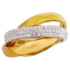 18 Carat Diamond Russian Wedder