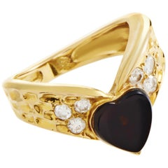 Van Cleef & Arpels Diamond Gold Band Ring