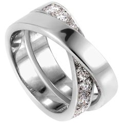 Cartier Paris Nouvelle Vague Diamond White Gold Ring