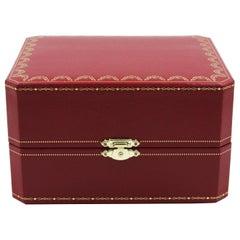 Cartier Red Watch Box