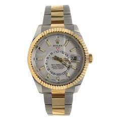 Rolex Sky-Dweller Two-Tone Stainless Steel and Yellow Gold