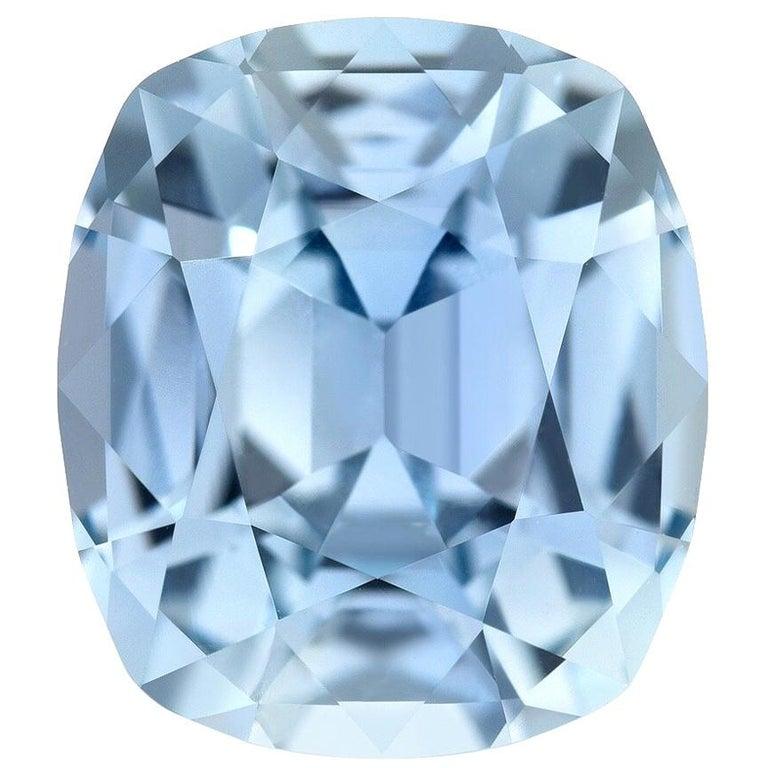 Unheated Blue Sapphire Burma AGL Certified 4.67 Carat For Sale