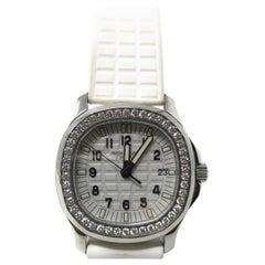 Patek Philippe Aquanaut Luce Pure White Ladies Stainless Steel & Diamonds Watch