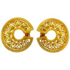 Cartier Yellow Gold Earrings 1970s