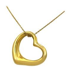 Tiffany & Co. 18 Karat Yellow Gold Pendant with Chain