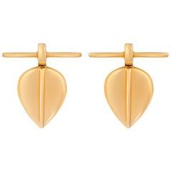 Maison Tjoeng Lazarus Gold Stud Earrings