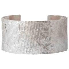 Silver Mega Cuff Bracelet by Allison Bryan