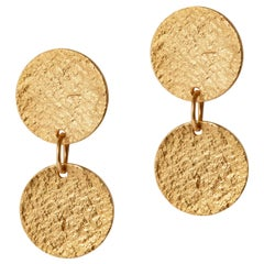 Arcade Earrings in Gold by Allison Bryan